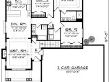 1500 Sq Ft House Plans with Garage Ranch Style House Plan 3 Beds 2 00 Baths 1500 Sq Ft Plan