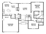 1500 Sq Ft Ranch House Plans with Basement 1400 Square Foot Home Plans 1500 Square Foot House Plans