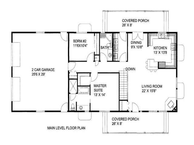 1500 Sq Ft Ranch House Plans With Basement 1500 Square Foot House