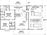 1500 Sq Ft Ranch House Plans with Basement House Plan 93480 House Plans Garage Ideas and House