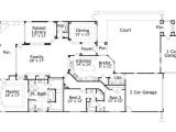 1500 Square Foot House Plans One Story Tuscan Style House Plans 2699 Square Foot Home 1 Story