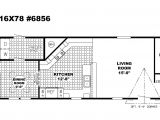 16 Wide House Plans 2 Bedroom Single Wide Mobile Home Floor Plans