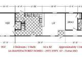 16 X 80 Mobile Home Floor Plans Unique 16 X 80 Mobile Home Floor Plans New Home Plans Design