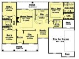 1600 Sq Ft Home Plans 3 Bedrm 1600 Sq Ft European House Plan 142 1011