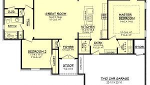 1600 Sq Ft Home Plans European Style House Plan 3 Beds 2 Baths 1600 Sq Ft Plan