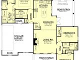 1600 Square Foot Ranch House Plans Ranch Style House Plan 3 Beds 2 00 Baths 1600 Sq Ft Plan