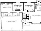 1600 Square Foot Ranch House Plans that Houses A 1600 Square Feet 1100 Square Feet House