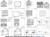 16×20 2 Story House Plans 16×20 Nantucket Style Shed Plans Build A Large Shed
