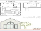 16×20 House Floor Plans 16×24 Cabin Plans with Loft 16×20 Cabin Small Cabin Plans