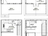 16×20 House Floor Plans Home Design Cottage Plans On Dog Trot House Cabin Floor
