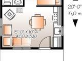16×20 House Floor Plans Plano De Casa 1 Piso 1 Bano 1 Dormitorio De 30 Metros