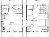 16×20 House Plans 16×20 Tiny House 581 Sq Ft Pdf Floor Plan Dallas