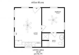16×20 House Plans with Loft 16×20 Floor Plan Small Home Design Pinterest Models