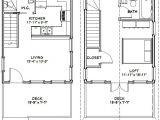 16×20 Tiny House Floor Plans 16×20 House 16x20h2 569 Sq Ft Excellent Floor