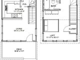16×20 Tiny House Floor Plans 16×20 House 16x20h3 569 Sq Ft Excellent Floor