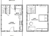 16×20 Tiny House Floor Plans 16×20 Tiny House 16x20h4c 574 Sq Ft Excellent