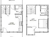 16×20 Tiny House Floor Plans 16×20 Tiny House 16x20h9 586 Sq Ft Excellent