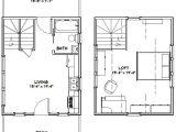 16×20 Tiny House Floor Plans 16×20 Tiny House 574 Sq Ft Pdf Floor Plan Lexington