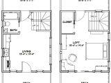 16×20 Tiny House Floor Plans 16×20 Tiny House 581 Sq Ft Pdf Floor Plan Dallas