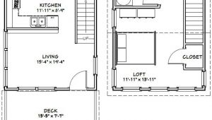 16×20 Tiny House Plans 16×20 House 16x20h3 569 Sq Ft Excellent Floor