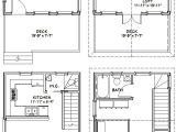 16×20 Tiny House Plans 16×20 Houses Pdf Floor Plans 569 Sq Ft by