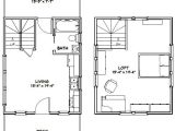 16×20 Tiny House Plans 16×20 Tiny House 16x20h4c 574 Sq Ft Excellent