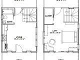 16×20 Tiny House Plans 16×20 Tiny House 581 Sq Ft Pdf Floor Plan Dallas
