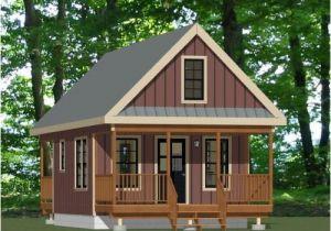 16×20 Tiny House Plans 16×20 Tiny House Pdf Floor Plan 624 Sqft Model 12 Ebay