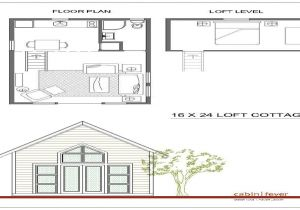 16×20 Tiny House Plans 16×24 Cabin Plans with Loft 16×20 Cabin Small Cabin Plans