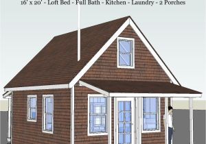 16×20 Tiny House Plans Pioneer 39 S Cabin 16×20 Tiny House Design