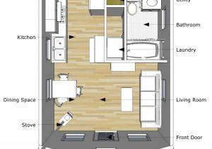16×20 Tiny House Plans Pioneer S Cabin 16 20 V2 Interior