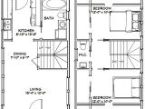 16×28 House Plans 16×28 House 16x28h8e 787 Sq Ft Excellent Floor Plans