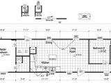 16×60 Mobile Home Floor Plans Redman Single Wide Mobile Home Floor Plans