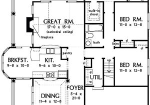 1700 Sf Ranch House Plans Country Style House Plan 3 Beds 2 00 Baths 1700 Sq Ft