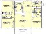 1700 Sf Ranch House Plans Ranch Style House Plan 3 Beds 2 Baths 1700 Sq Ft Plan