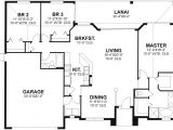 1700 Square Foot Home Plans Florida House Plan 3 Bedrooms 2 Bath 1700 Sq Ft Plan