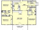 1700 Square Foot Home Plans Ranch Style House Plan 3 Beds 2 00 Baths 1700 Sq Ft Plan