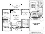 1700 Square Foot Home Plans Ranch Style House Plan 3 Beds 2 Baths 1700 Sq Ft Plan