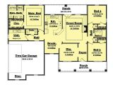 1700 Square Foot Home Plans Traditional Country Ranch House Plans Home Design