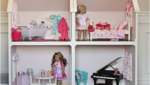 18 Doll House Plans Doll House Plans for American Girl or 18 Inch Dolls One Room