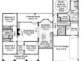 1800 Sq Ft Country House Plans Country Style House Plan 3 Beds 2 Baths 1800 Sq Ft Plan