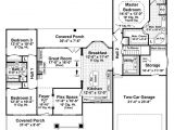 1800 Sq Ft House Plans Open Concept Craftsman Style House Plan 3 Beds 2 Baths 1800 Sq Ft