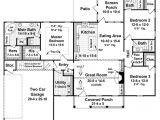 1800 Square Foot Home Plans Country Style House Plan 3 Beds 3 Baths 1800 Sq Ft Plan