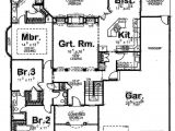 1800 Square Foot Home Plans Traditional Style House Plan 3 Beds 2 50 Baths 1800 Sq