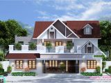 1900 Sq Ft House Plans Kerala Awesome 1900 Square Feet 4 Bedroom Home Kerala Home