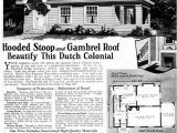 1930s Home Plans 1930 Dutch Colonial Revival Elizabeth Montgomery Ward