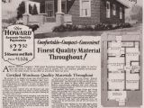 1930s Home Plans 1930 Howard Tiny Hipped Roof Bungalow Kit House