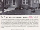 1940s Home Plans 1940 Aladdin Kit Homes the Concord Vintage House Plans