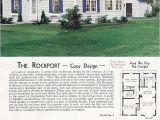 1940s Home Plans 1940 Aladdin Kit Homes the Rockport Old but soo Cute