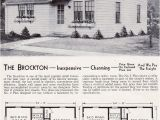 1940s Home Plans Minimal Traditional Cottage 1940 Aladdin Brockton Mid